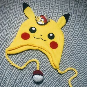 Pikachu NWT Official Pokemon Winter Hat